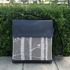 Satchel - Birch Forrest - Greylead - Free shipping