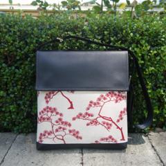 Satchel - Bonsai - Deep Red - Free Shipping