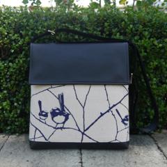 Satchel - Wrens - Inky Blue