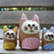 Kitty Family - Tiny Felt Cat Softies