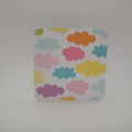 3 x Clouds Blank Mini Gift Cards with Kraft envelopes