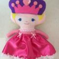 Cinderella Softie Doll