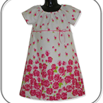 SIZE 6 Rose Boarder Dress