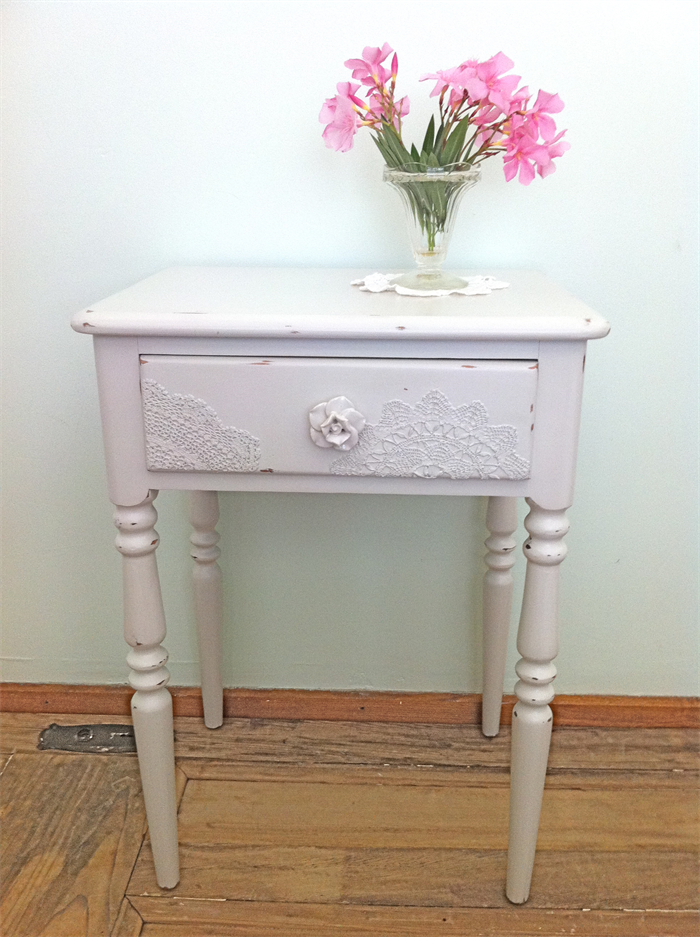 39 Petal 39 Shabby Chic Side Table Cherry Lane Furniture