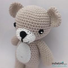 Crochet Teddy Toy - Amigurumi - Natural colour
