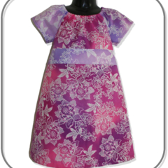 Pink and Mauve Paisley Floral Dress (SIZE 2 & 4)