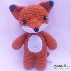 Crochet Fox Toy - Amigurumi