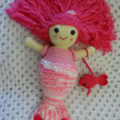 Sirena the Mermaid - Crocheted Doll