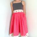 Coral & Floral, Tank Dress