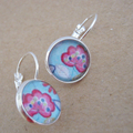 Pink Bloom Earrings