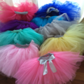 Custom made tulle tutu skirt pick your color 12-24month