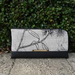 Wallet - Flowing Gum - Black & Greylead - Free Shipping