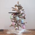 Easter Egg Driftwood Tree