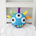 Happy monsters in aqua, multicoloured toy, plush, bright, toys for boys