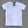 100% Cotton T-shirt, Hand painted, for Boy or Girl.