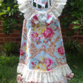 """...Vintage """" Flower and Lace,Diamond and Pearl,s"""" Dress..."""