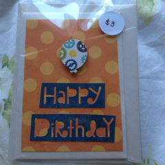 Handmade Small Birthday Card
