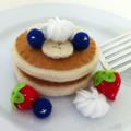 Pancakes- Felt Play Food Set