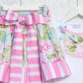 Min Pink Long Sleeve Top Tee Onesie Bodysuit Singlet Birthday party