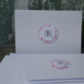 Letter B Mini Card Pack Writing Pack Notecards