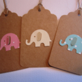 Kids Birthday or Baby Shower Gift Tag - Set of 10