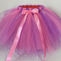 Purple and Pink Princess Tutu Skirt