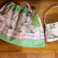 Only buy if you are wooyan: custom made Winnie the Pooh skirt with bag