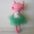 Pink Frog Softie