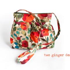 Poppy Hobo Style Handbag
