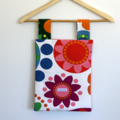 Laundry Fun Peg Bag - Bright Fun-tastic Flowers