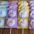 Easter Themed Lollipop Covers and Lollipops (Set of Four)