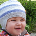 Knitted Ear Flap Hat | Boy/Girl | 0 to 3M | Made to order | Custom Colour