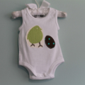 Baby's First Easter. Romper. Easter Baby Clothes. Newborn Easter Gift. Size 0000