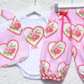 Harem Pants - My Valentine birthday party. girls outifit.
