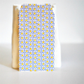Pretty Pattern Embossed Note-sets {w Envelopes, Cards + Seals} Blue