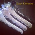 Vintage inspired 'BRIDE' Lace Hanger