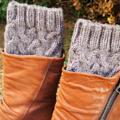 Knit Boot Cuffs Legwarmers