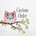 Custom Order for Mel @ Creative Wishes - Set of 3 cushion covers
