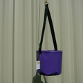 Purple Peg Bag