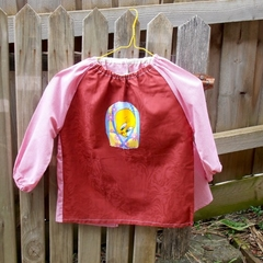 Toddler age 2-3 years, art smock - Tweety Bird. T6.