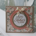Vintage Inspired Mother's Day Card ~ Happy Mother's Day ~ Ready to Post