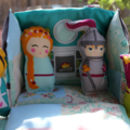Playhouse Set - Princess, Prince/Knight, Fairy Queen, Maid