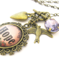 'Hope' Charm Necklace