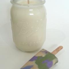 Sweet Pea & Jasmine - Hand Poured Candle
