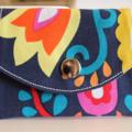 'yellow tulip' little wallet