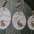 Easter Tags ~ Bunny Tags ~ New Baby Tags ~ Baby Shower Tags