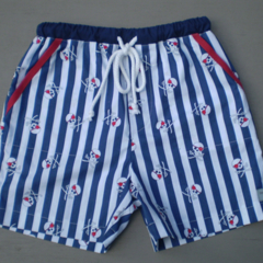 Striped Pirate Board Shorts