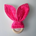 Customise your teething bunny great first Easter present
