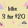 Bib combo set of 3
