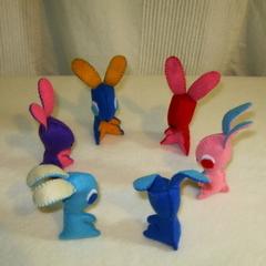 6 Little Bunny's